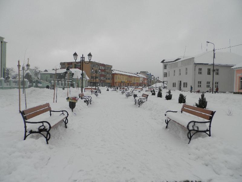 Чи готовий Хуст до зимової негоди? – Хустська міська рада