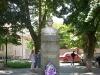 Пам'ятник Олександру Духновичу, встановлений на площі Богдана Хмельницького